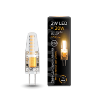 Лампа Gauss LED G4 12V 2W 2700K 207707102