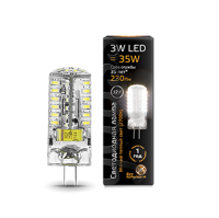 Лампа Gauss LED G4 12V 3W 2700K 207707103