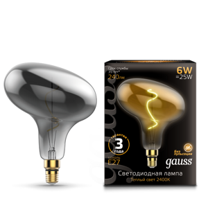 Лампа Gauss Led Vintage Filament Flexible FD180 6W E27 165802008