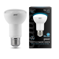 Лампа Gauss LED  R63 E27 9W 4100K 106002209